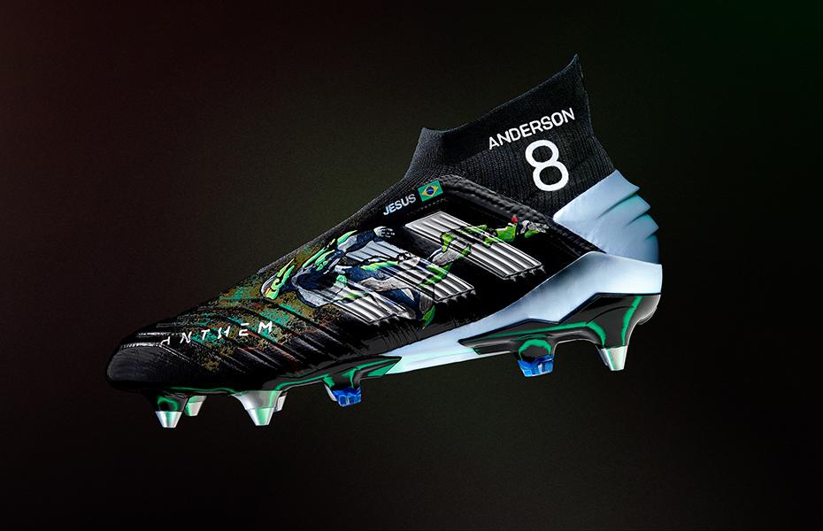 8a025c2d5b Anthem invade o futebol com chuteiras personalizadas