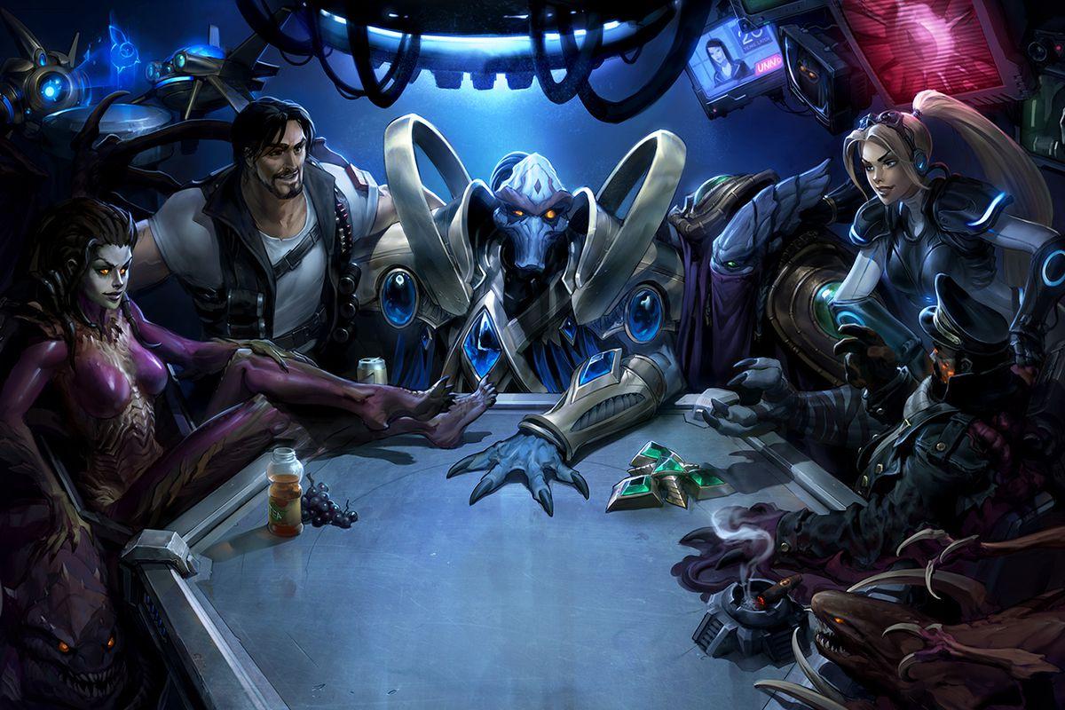 Blizzard Slav 20 Vro Strategie StarCraft A Rozdv
