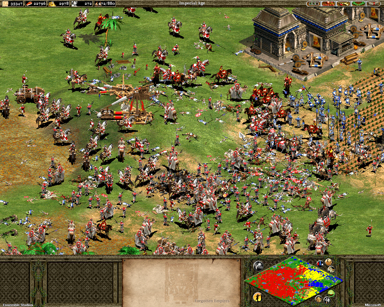 Image result for aoe II HD battle