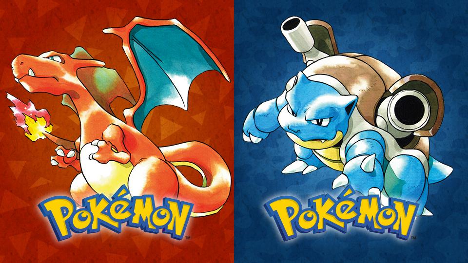 Remakes de Pokemon Red e Blue
