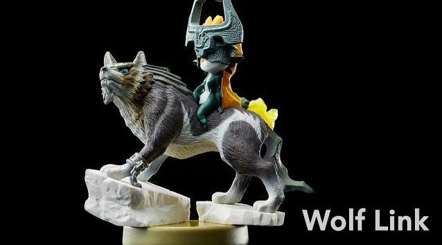 Wolf Link Amiibo Unlocks Super Mario Maker Content