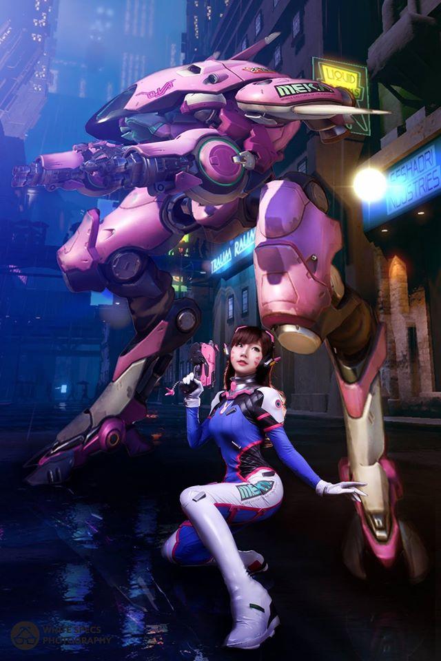 Check Out This Amazing DVa Overwatch Cosplay Gameranx