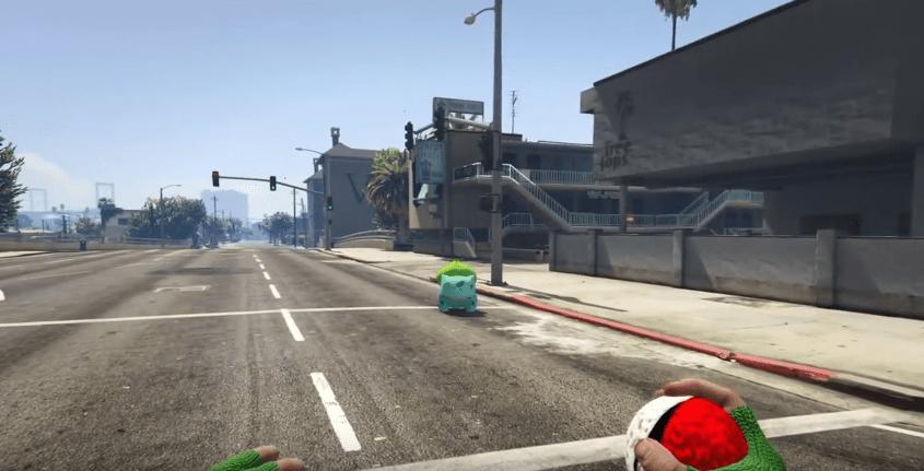 Pokemon Go Invades Grand Theft Auto V