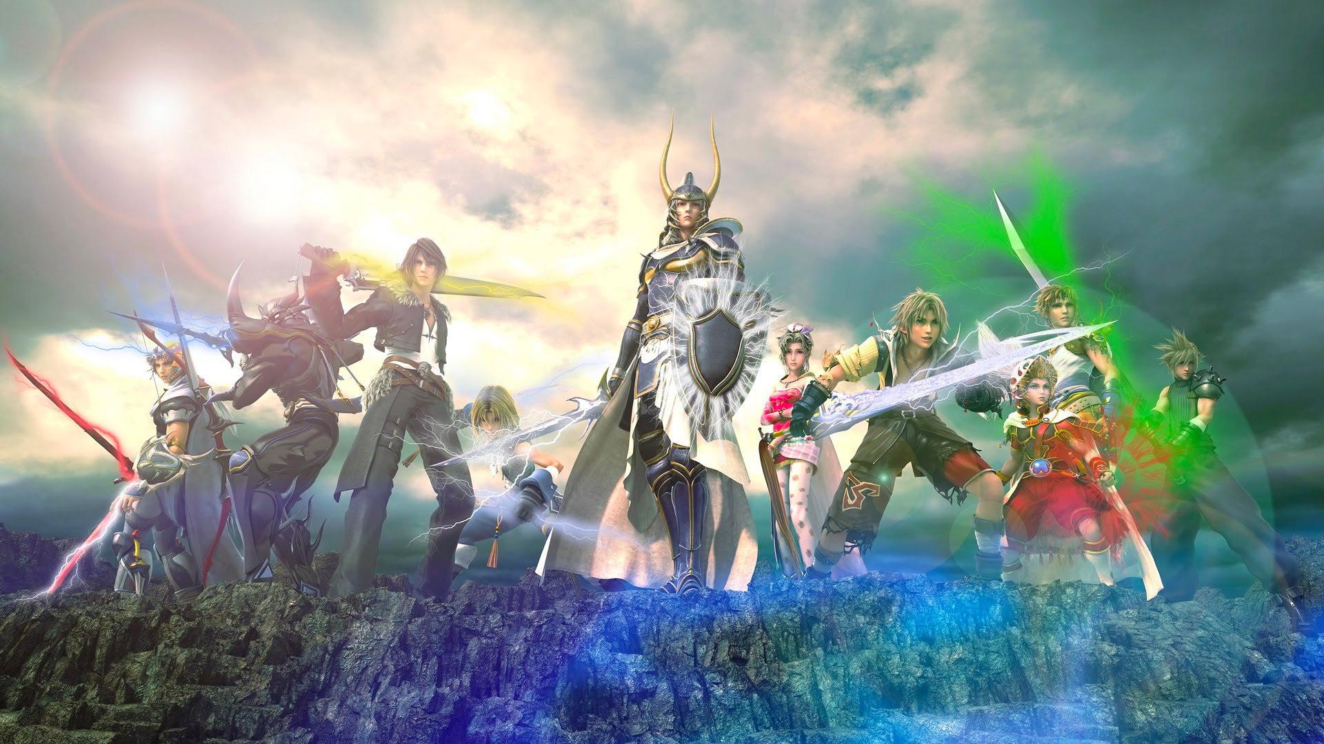 DISSIDIA Final Fantasy NT Wallpapers In Ultra HD 4K Gameranx