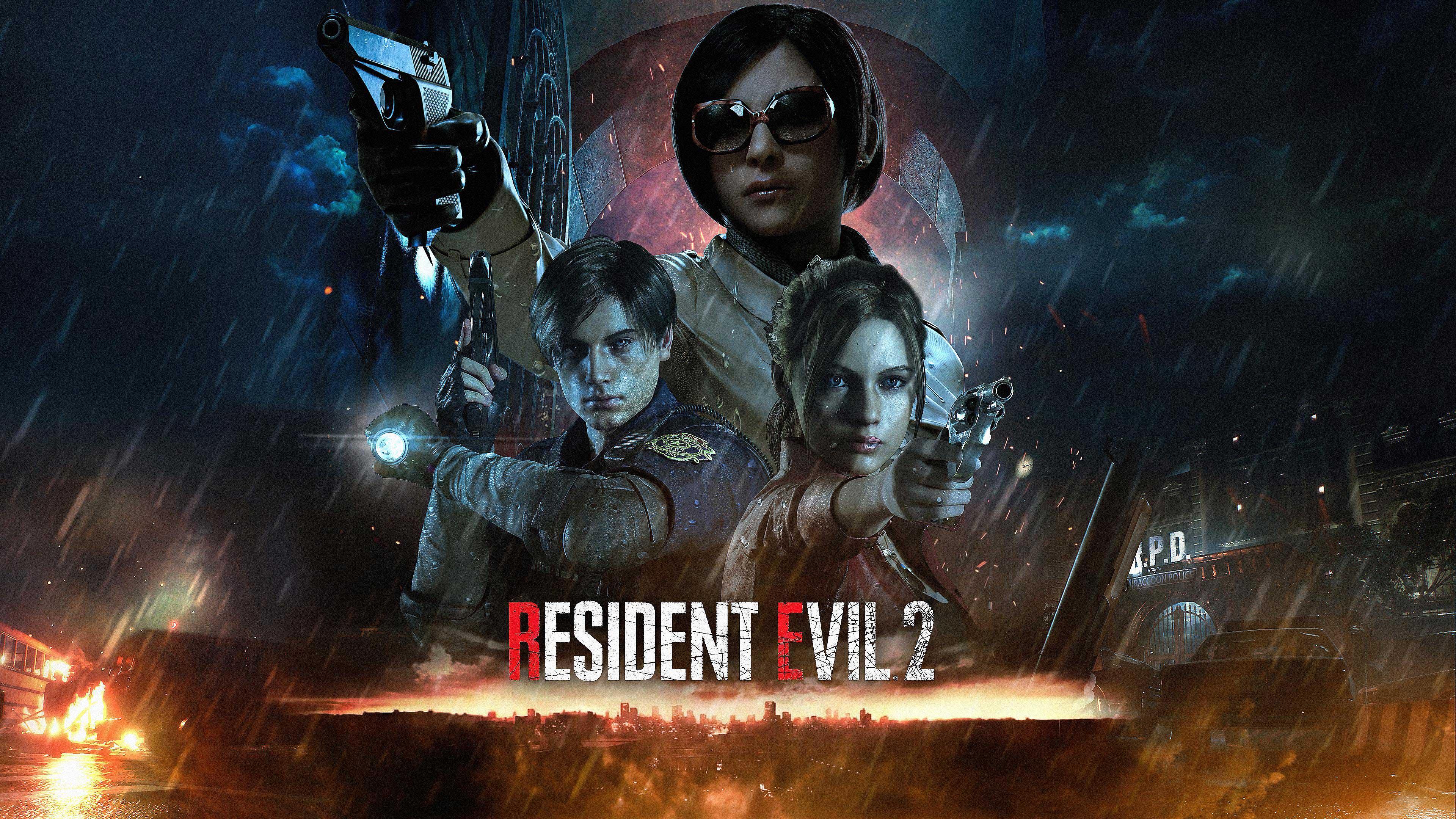 Resident Evil 2 Remake Wallpapers In Ultra HD 4K Gameranx