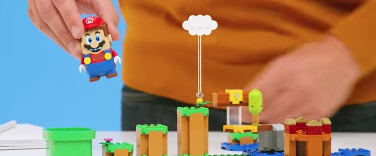 Video: See The LEGO Mario Starter Course In Action