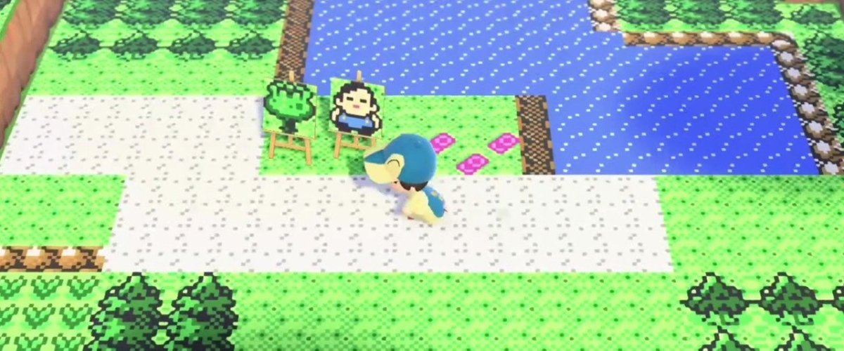 Random: Pokémon Gold And Silver Recreated In Animal Crossing: New Horizons Is Absolutely Mindblowing