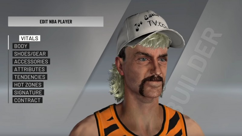 The Subjects Of Tiger King Get Recreated In NBA 2020