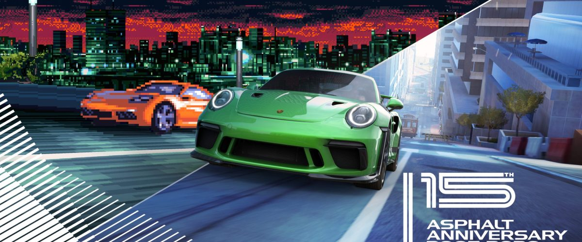 Asphalt series celebrates its 15th anniversary with special events and the return of Asphalt Urban GT