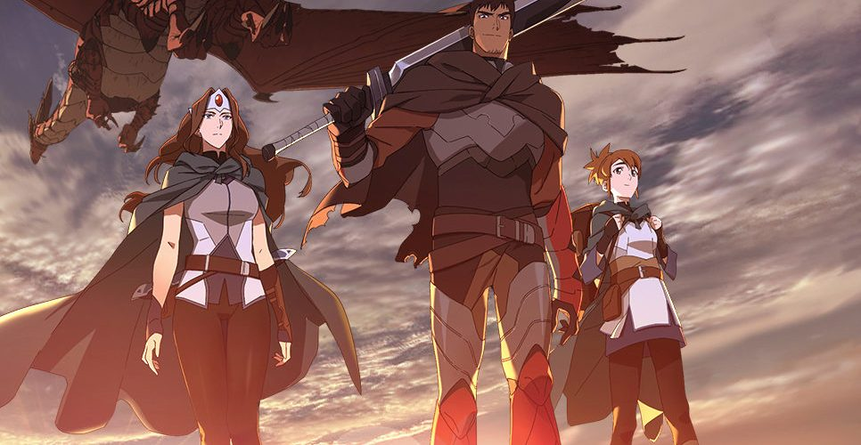 The main trailer for the Netflix anime Dota: Dragon's Blood is here