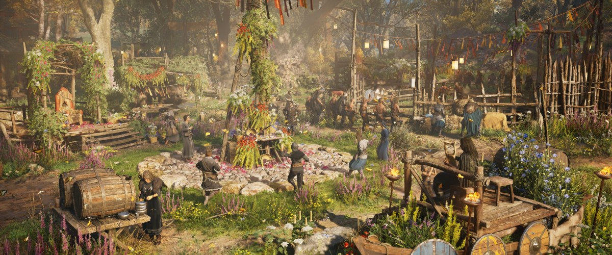 Assassin's Creed Valhalla removes festive decorations causing crashes