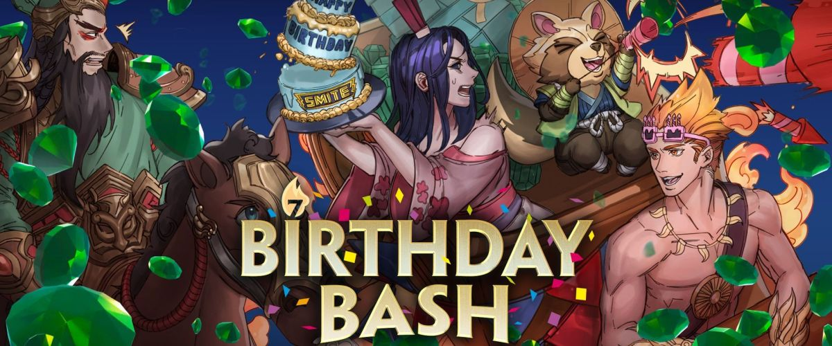 Smite Celebrates its 7th Birthday with New Update