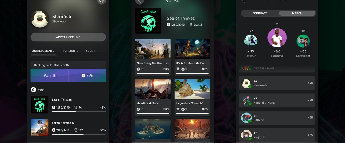 Xbox Update is Here with Xbox App Leaderboards, New Game Pass Features, and More