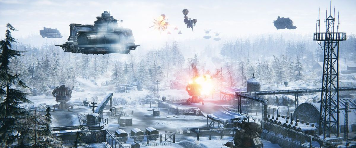 The Americans and their airships come to Iron Harvest in the Operation Eagle DLC