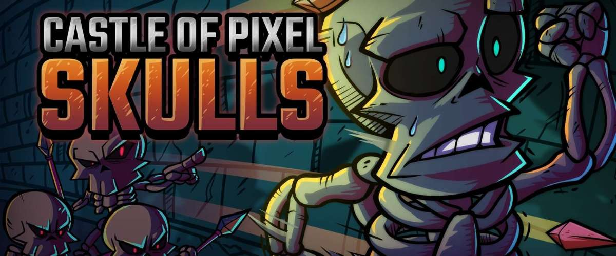 Retro-Styled Platformer Castle of Pixel Skulls is Available Now