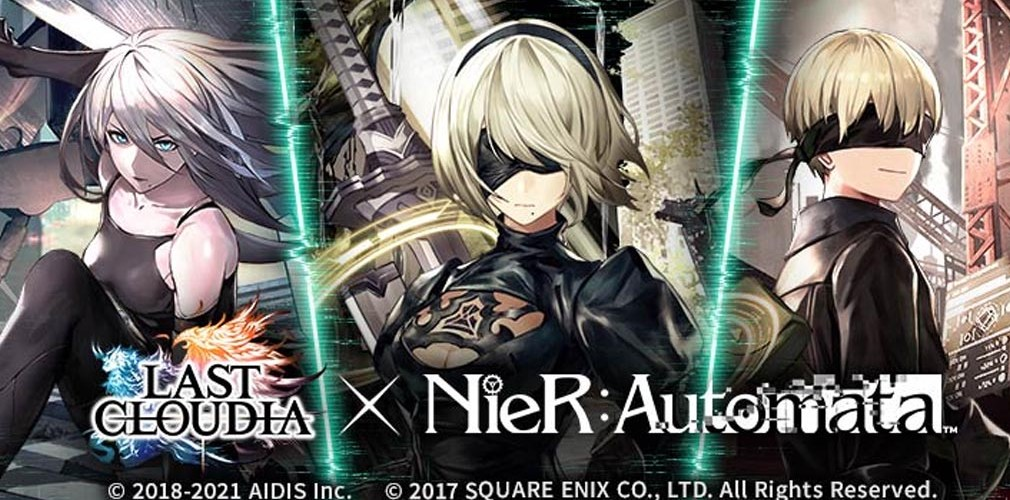 Last Cloudia x NieR: Automata collab part 2 will feature social media giveaways on top of new units from the gacha pool   Articles