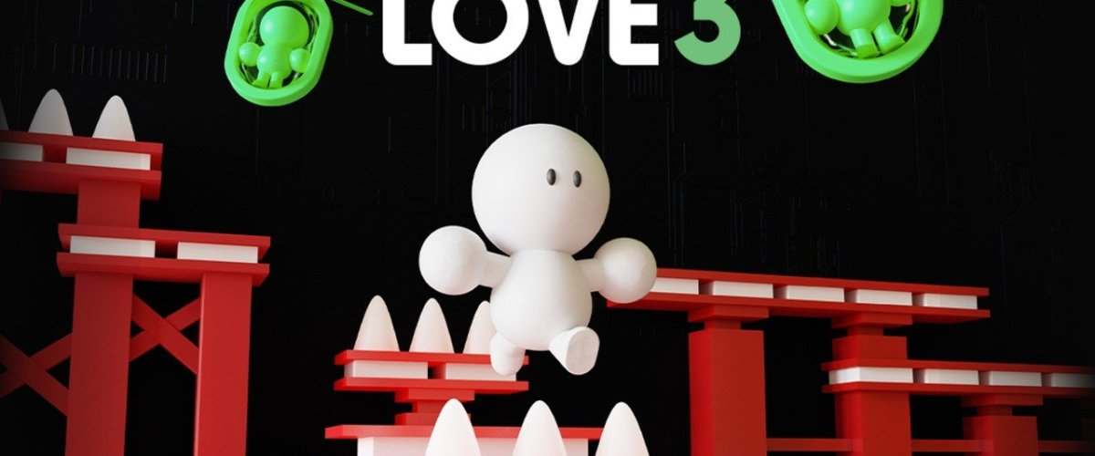 LOVE 3 Brings Reductive Retro Platforming To Switch