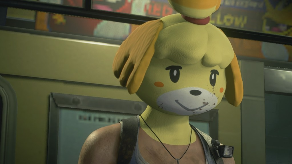 Resident Evil 3 Remake's most terrifying mod yet stars Animal Crossing's Isabelle • Eurogamer.net