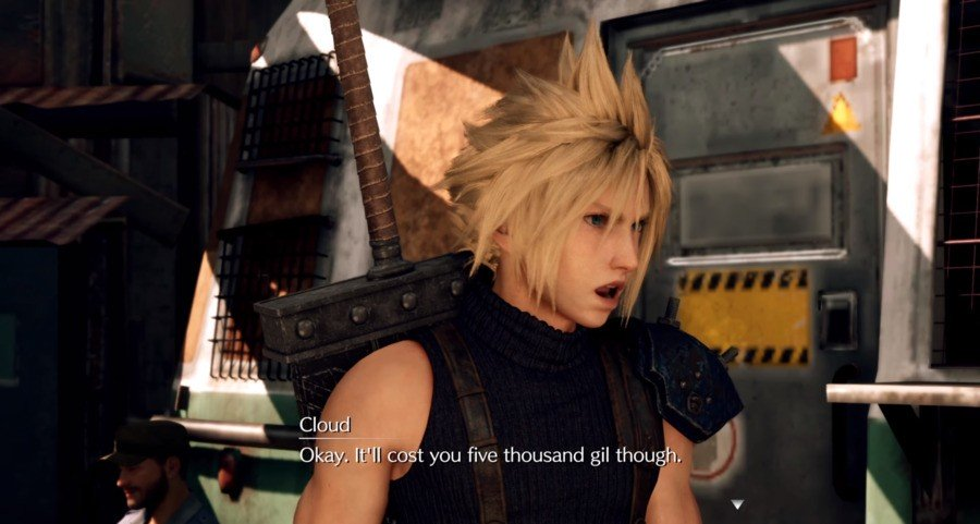 Final Fantasy VII Remake PS4 3