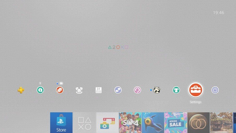 PlayStation 20th Anniversary Theme