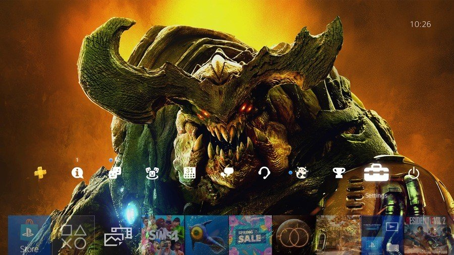 Doom PS Plus Theme