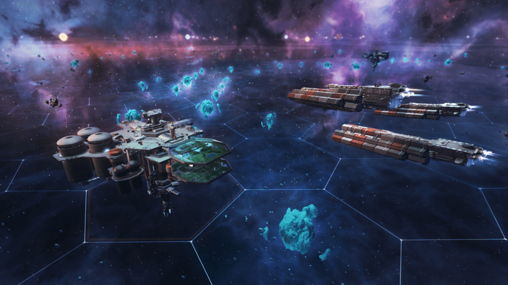Massively multiplayer RTS Starborne has entered open beta