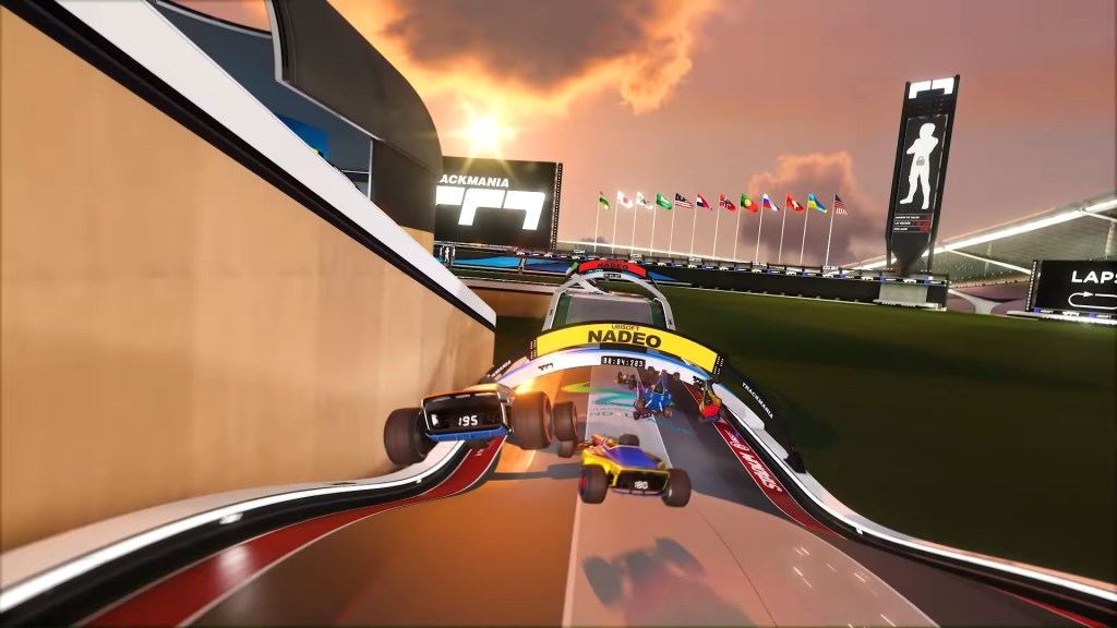 Trackmania delayed until July, new gameplay trailer revealed