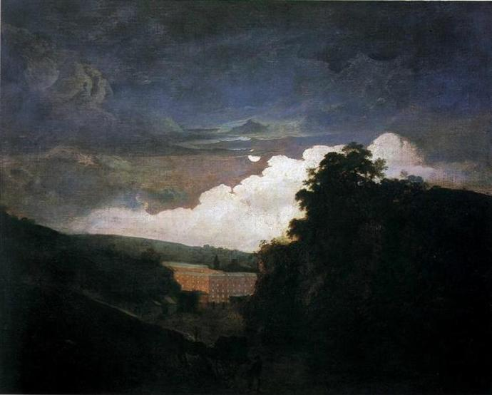 arkwrights_cotton_mills_by_night