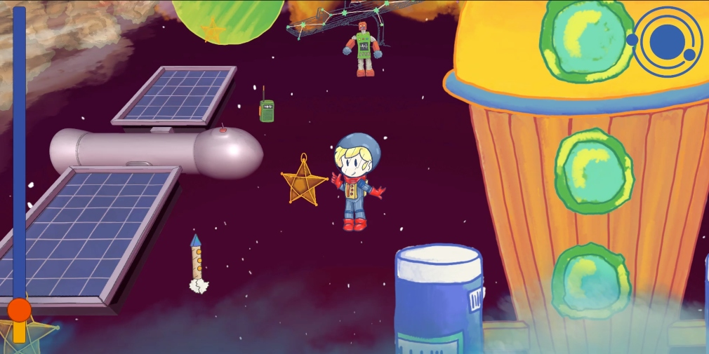 I Want To Go To Mars is a wholesome narrative adventure game that