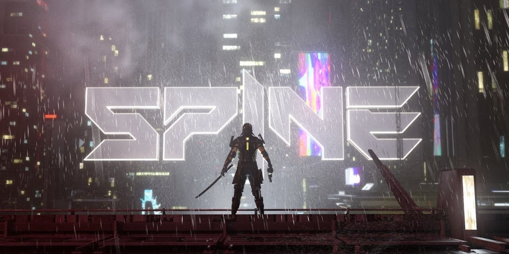 Spine is a cross-platform cyberpunk fighting game from the makers of Shadow Fight