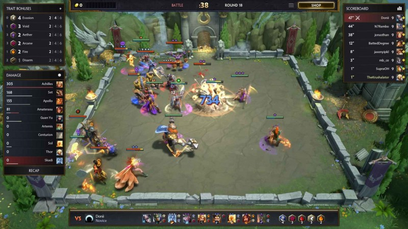 The Smite-Themed Auto-Battler Prophecy Heads To Early Access