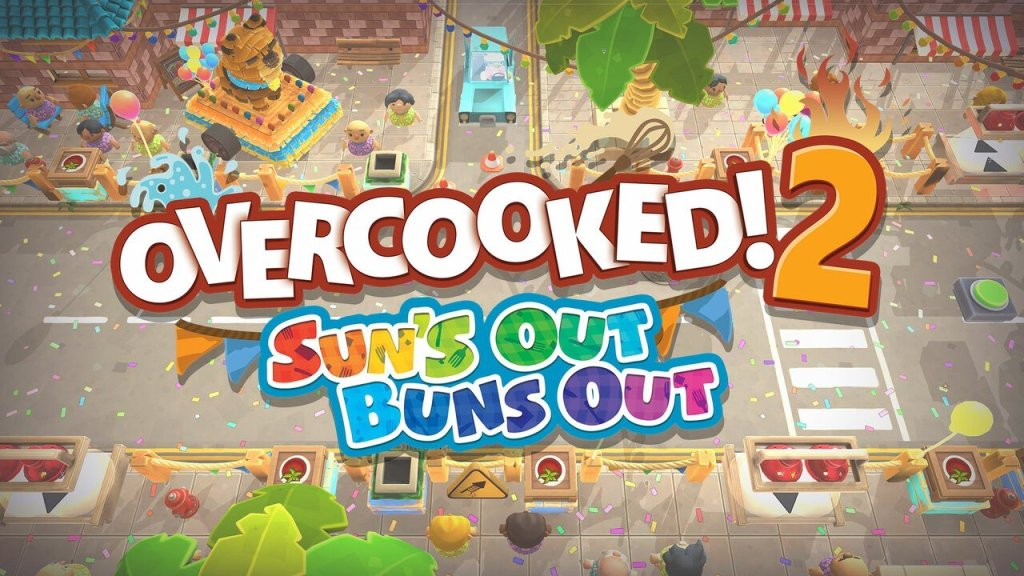 Overcooked 2's Next Free DLC, Sun's Out Buns Out, Is Ready to Eat on PS4 Next Month