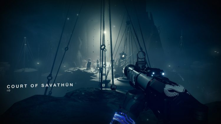 Destiny 2 Season Of Arrivals Weekly Interference Mission Means To An End Quest Savathun's Court 4 2