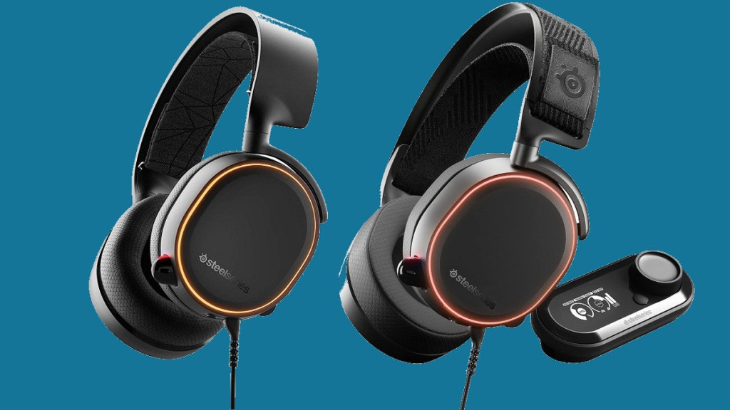 A pair of SteelSeries Arctis headsets are on sale at Amazon UK • Eurogamer.net