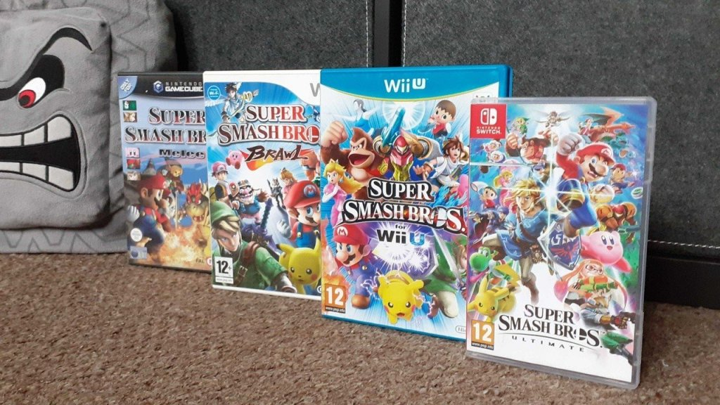 Random: Have Super Smash Bros. Boxes Been Teasing Future Games All Along?