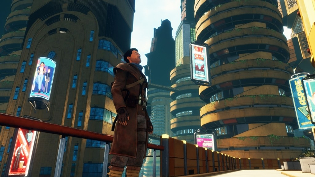 Beyond a Steel Sky review