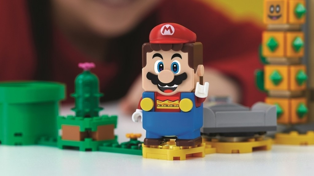 Two of the world's great toymakers meet in the middle with Lego Super Mario • Eurogamer.net