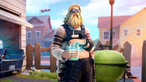 Fortnite item shop: Jonesy dresses like fat Thor or Lebowski