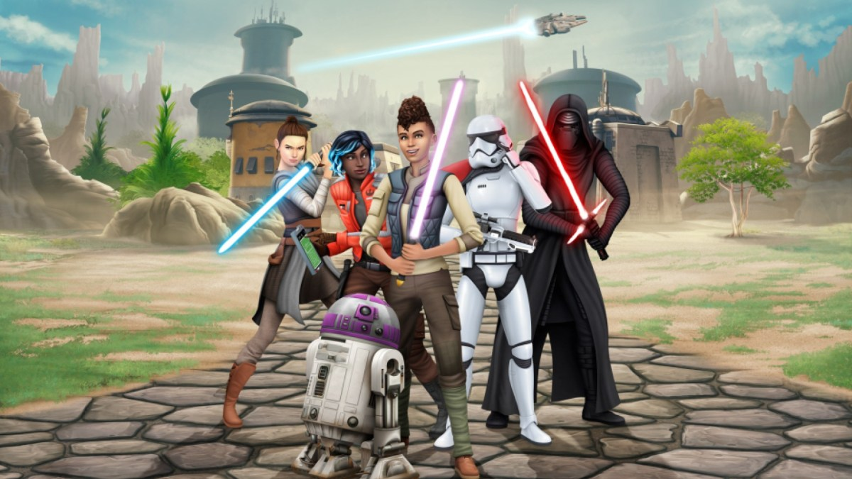 The Sims 4 Star Wars: Journey to Batuu Game Pack