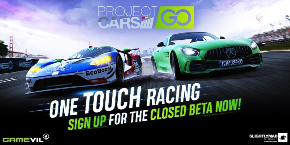 Project CARS GO will be entering a closed beta for iOS and Android in select regions during October