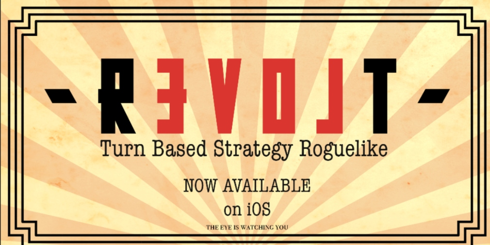 Revolt is a turn-based, strategic roguelike set in a dystopian future that