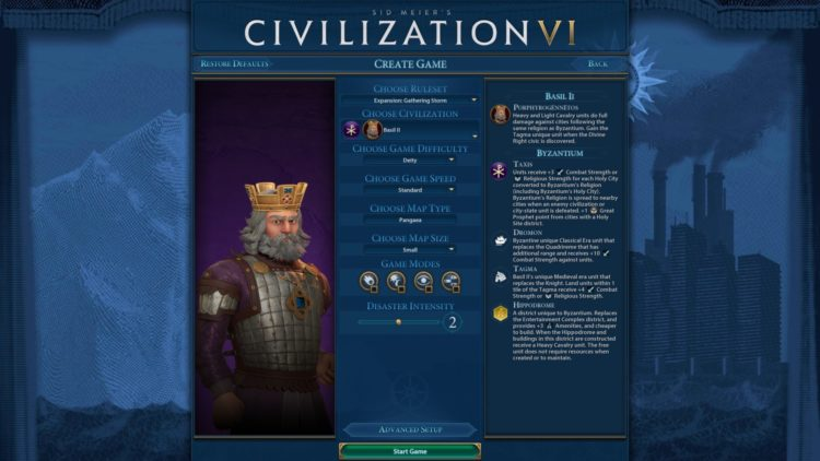 Civilization Vi New Frontier Pass Civilization 6 Basil Ii Byzantium Deity Guide 1b