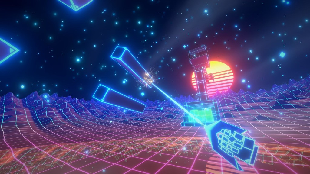 Contest: Win synthwave swinger Cyber Hook for Steam