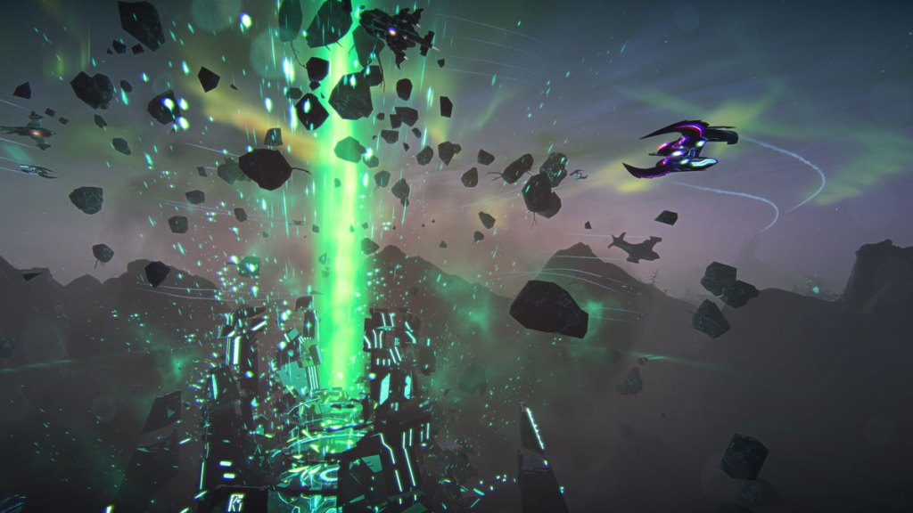 PlanetSide 2:The Shattered Warpgate update is now live