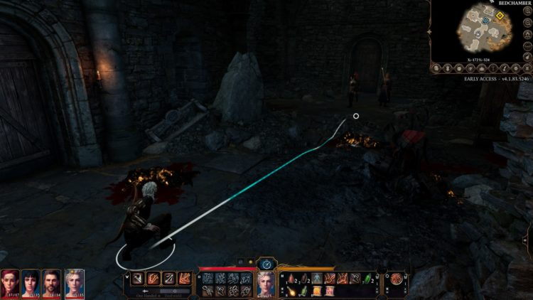 Baldur's Gate 3 How To Select All Party Members Group Split 2