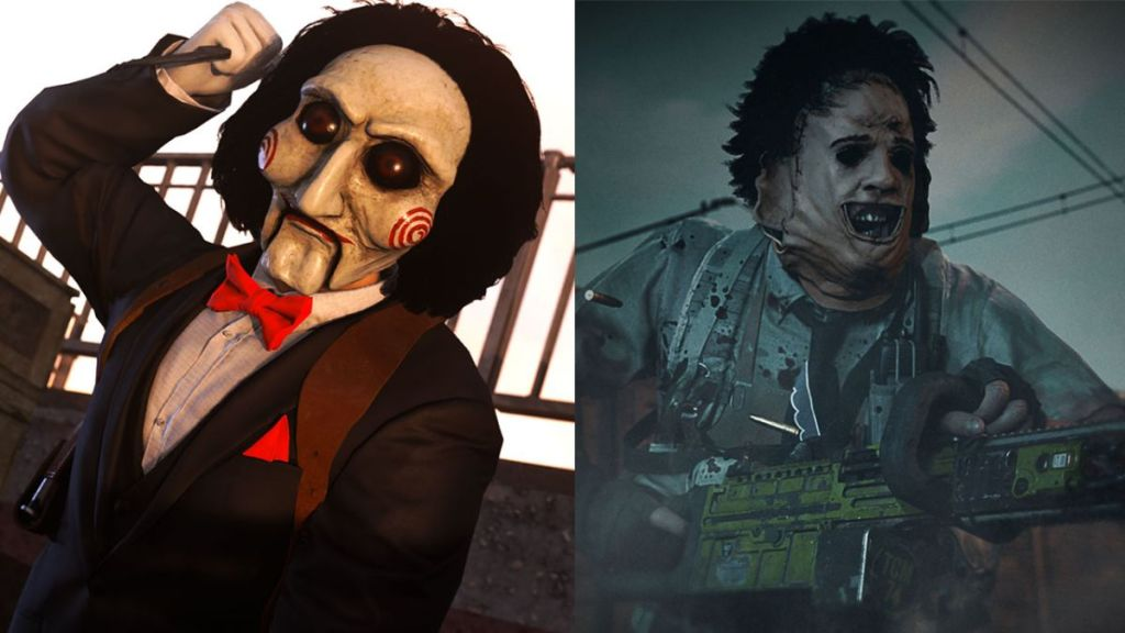 Leatherface and that guy from Saw are in Call of Duty: Warzone now