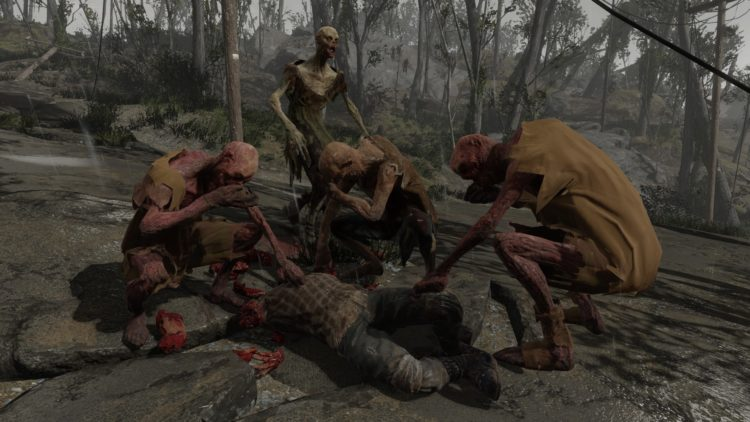 Zombie Walkers Halloween Fallout 4 Mods