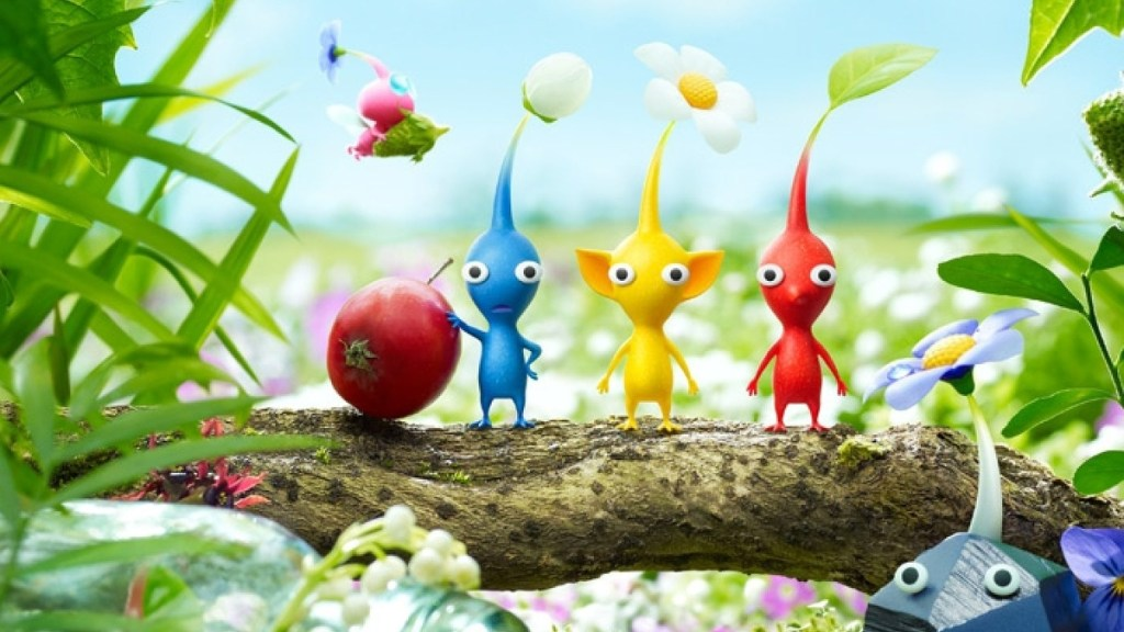Pikmin 3 Deluxe review - buried treasure given a buff • Eurogamer.net