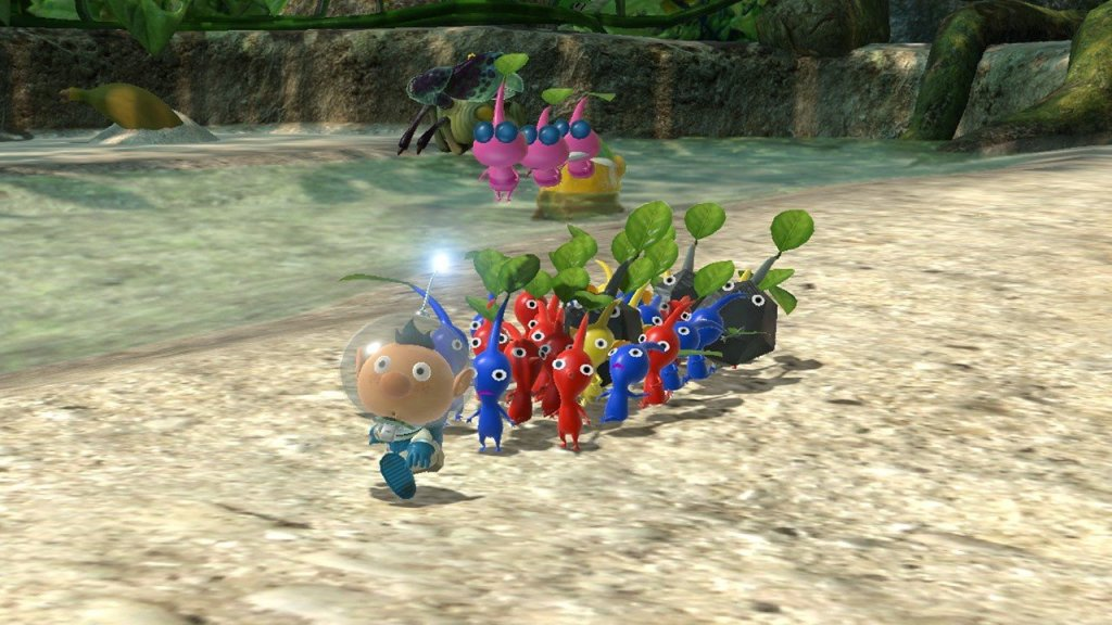 Eighting Helped Nintendo Bring Pikmin 3 To The Switch