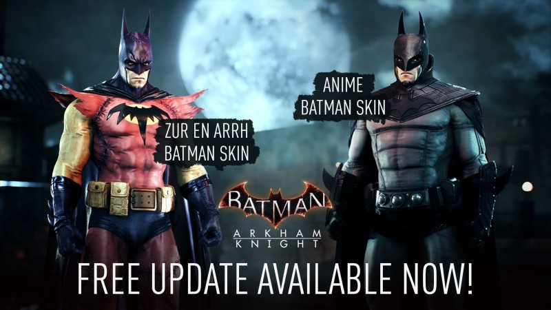 Two Batman: Arkham Knight Skins Are Available To Everyone Via A New Update